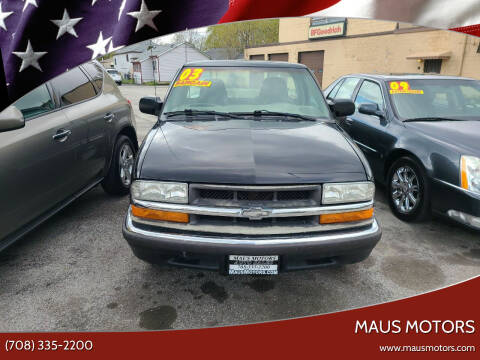 2003 Chevrolet S-10 for sale at MAUS MOTORS in Hazel Crest IL