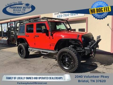2017 Jeep Wrangler Unlimited for sale at PARKWAY AUTO SALES OF BRISTOL - PARKWAY AUTO JOHNSON CITY in Johnson City TN