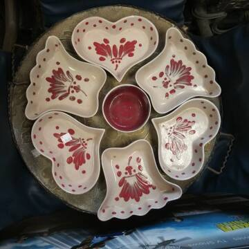 antique bowl set for sale at BENHAM AUTO INC - Peace of Mind Treasures and More Store in Lubbock TX