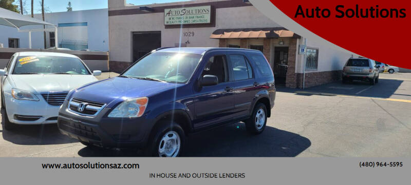 2003 Honda CR-V for sale at Auto Solutions in Mesa AZ