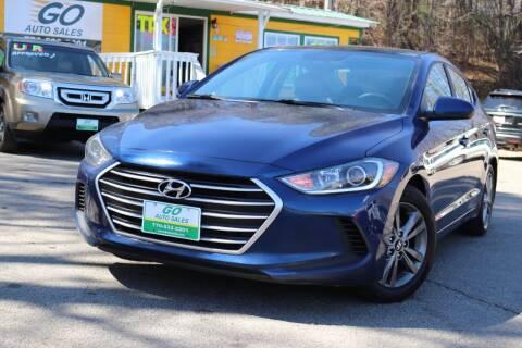 2017 Hyundai Elantra for sale at Go Auto Sales in Gainesville GA