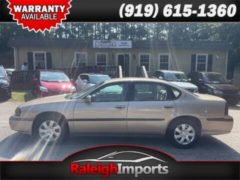2005 Chevrolet Impala for sale at Raleigh Imports in Raleigh NC