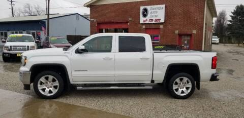 2016 GMC Sierra 1500 for sale at DANVILLE AUTO SALES in Danville IN