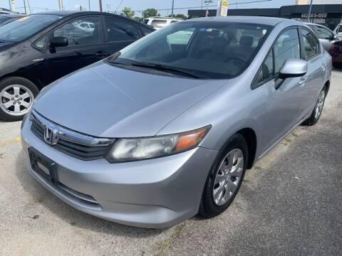 2012 Honda Civic for sale at The Kar Store in Arlington TX
