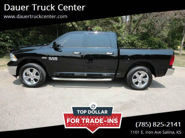 2013 RAM Ram Pickup 1500 for sale at Dauer Truck Center in Salina KS