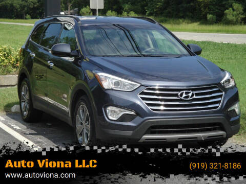 2016 Hyundai Santa Fe for sale at Auto Viona LLC in Durham NC
