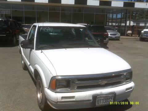 1994 Chevrolet S-10 for sale at Mendocino Auto Auction in Ukiah CA