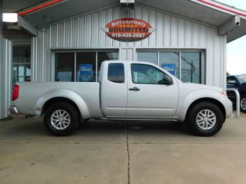 2016 Nissan Frontier for sale at Motorsports Unlimited in McAlester OK