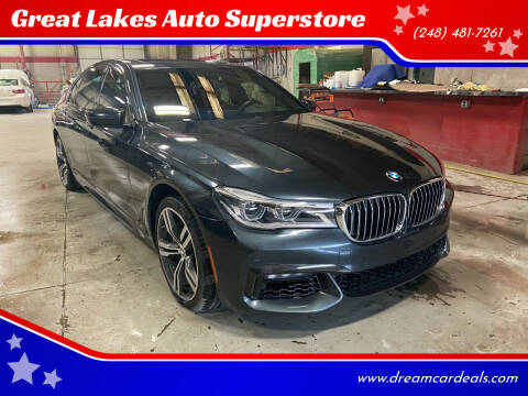 2016 BMW 7 Series for sale at Great Lakes Auto Superstore in Pontiac MI