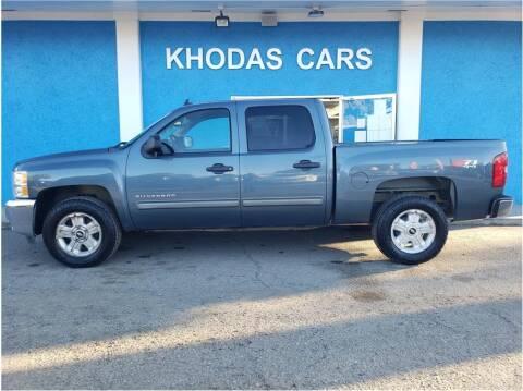 2012 Chevrolet Silverado 1500 for sale at Khodas Cars in Gilroy CA