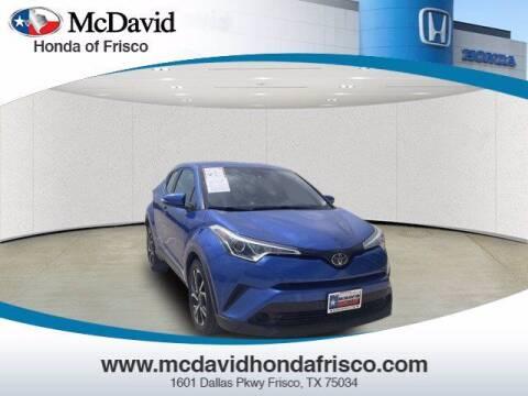 2018 Toyota C-HR for sale at DAVID McDAVID HONDA OF IRVING in Irving TX