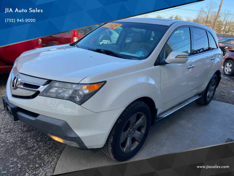 2008 Acura MDX for sale at JIA Auto Sales in Port Monmouth NJ