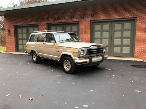 1989 Jeep Grand Wagoneer for sale at Jack Frost Auto Museum in Washington MI
