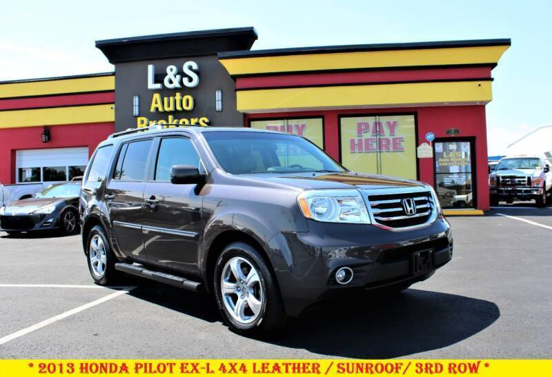 2013 Honda Pilot for sale at L & S AUTO BROKERS in Fredericksburg VA