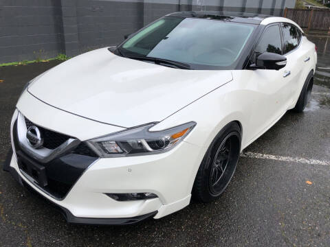 2016 Nissan Maxima for sale at APX Auto Brokers in Lynnwood WA