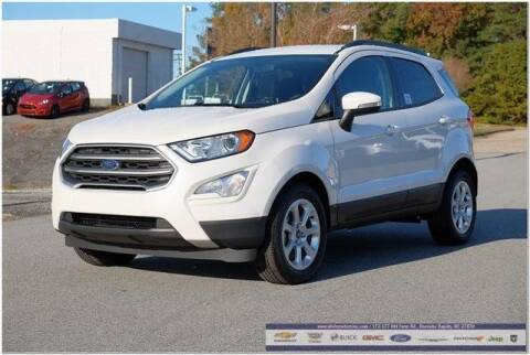 2020 Ford EcoSport for sale at WHITE MOTORS INC in Roanoke Rapids NC