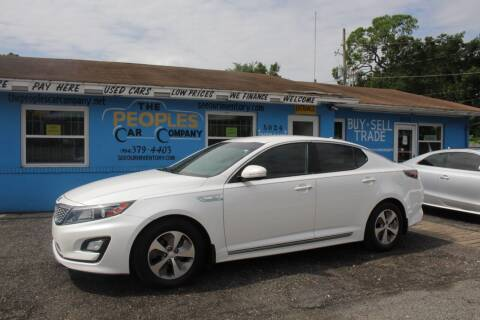 2014 Kia Optima Hybrid for sale at The Peoples Car Company in Jacksonville FL