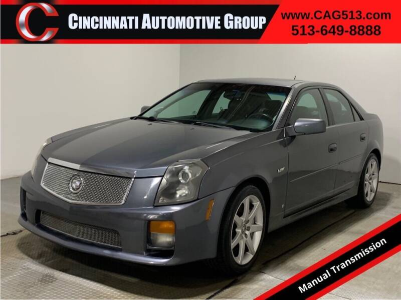 2007 Cadillac CTS-V for sale at Cincinnati Automotive Group in Lebanon OH