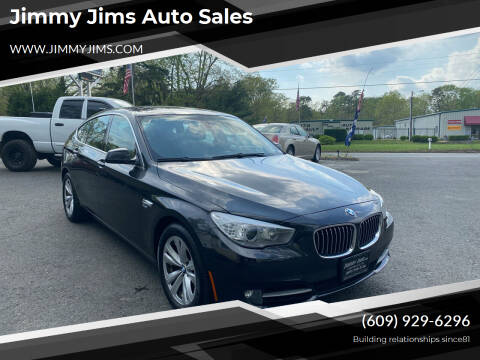 2012 BMW 5 Series for sale at Jimmy Jims Auto Sales in Tabernacle NJ