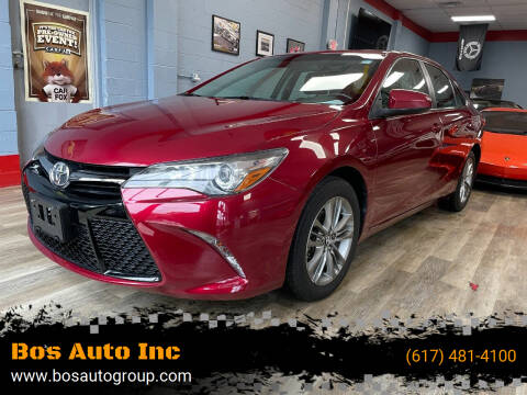 2016 Toyota Camry for sale at Bos Auto Inc in Quincy MA
