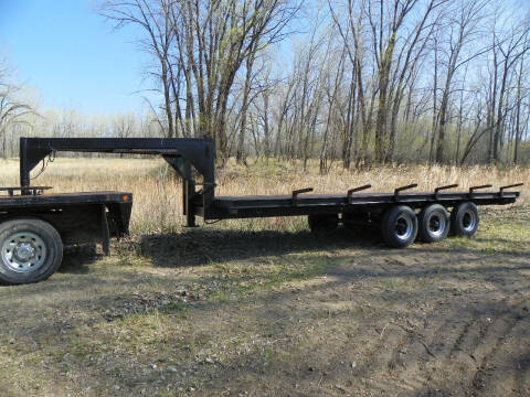 2015 Homemade Gooseneck for sale at J & S Auto Sales in Thompson ND