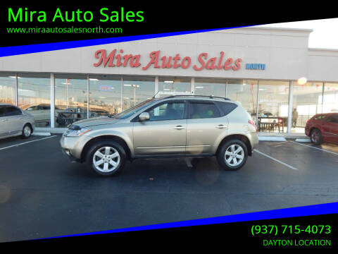 2007 Nissan Murano for sale at Mira Auto Sales in Dayton OH