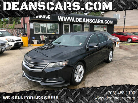 2014 Chevrolet Impala for sale at DEANSCARS.COM in Bridgeview IL
