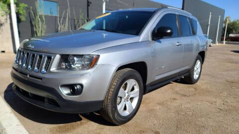 2016 Jeep Compass for sale at Fast Trac Auto Sales in Phoenix AZ