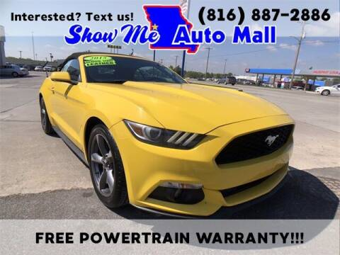 2015 Ford Mustang for sale at Show Me Auto Mall in Harrisonville MO