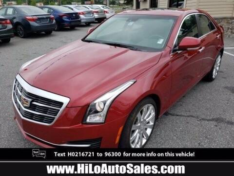 2017 Cadillac ATS for sale at Hi-Lo Auto Sales in Frederick MD