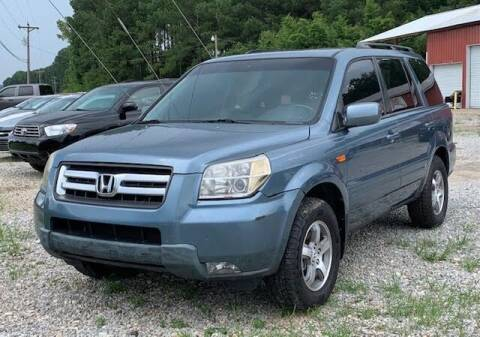 2007 Honda Pilot for sale at Billy Miller Auto Sales in Mount Olive MS
