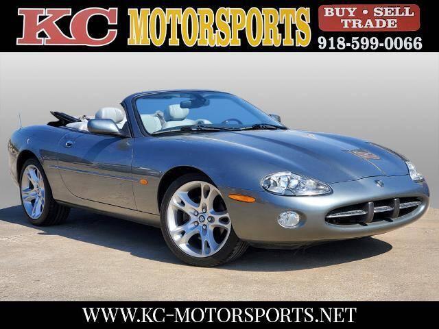 2003 Jaguar XK-Series for sale at KC MOTORSPORTS in Tulsa OK