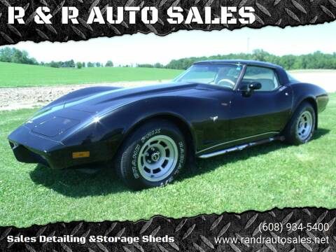1979 Chevrolet Corvette for sale at R & R AUTO SALES in Juda WI
