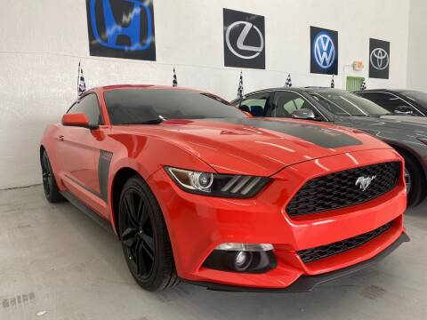 2016 Ford Mustang for sale at GCR MOTORSPORTS in Hollywood FL