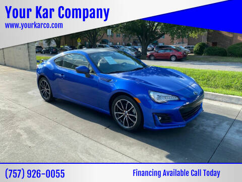 2017 Subaru BRZ for sale at Your Kar Company in Norfolk VA
