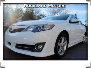 2013 Toyota Camry for sale at Rockland Automall - Rockland Motors in West Nyack NY