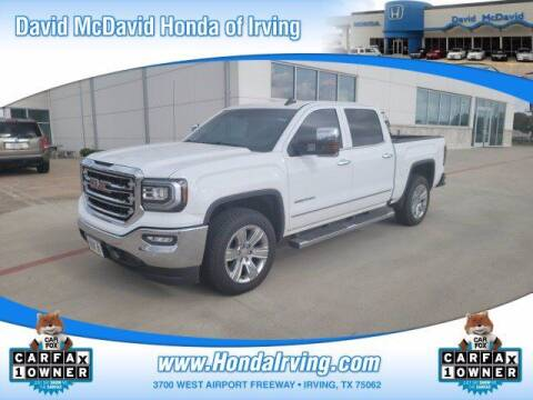 2018 GMC Sierra 1500 for sale at DAVID McDAVID HONDA OF IRVING in Irving TX