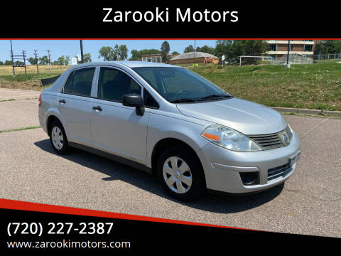 2009 Nissan Versa for sale at Zarooki Motors in Englewood CO