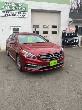 2015 Hyundai Sonata for sale at Pikeside Automotive in Westfield MA