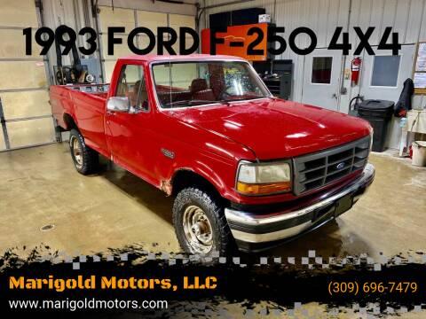 1993 Ford F-250 for sale at Marigold Motors, LLC in Pekin IL