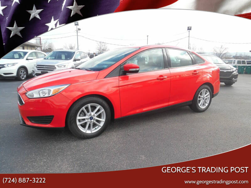 2017 Ford Focus for sale at GEORGE'S TRADING POST in Scottdale PA