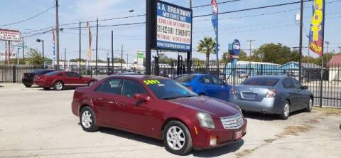 2007 Cadillac CTS for sale at S.A. BROADWAY MOTORS INC in San Antonio TX