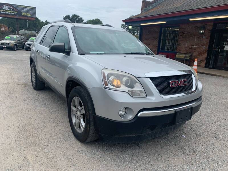 2010 GMC Acadia for sale at Super Wheels-N-Deals in Memphis TN