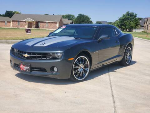 2013 Chevrolet Camaro for sale at Chihuahua Auto Sales in Perryton TX