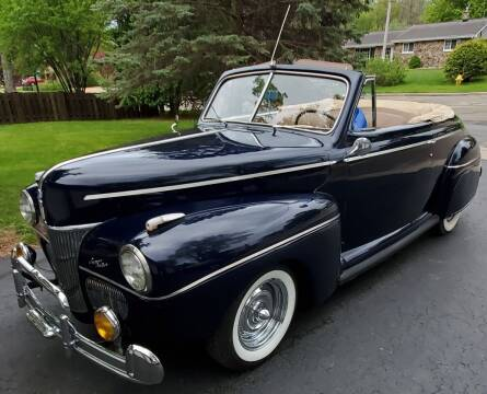 1941 Ford CONVERTIBLE for sale at ADA Motorwerks in Green Bay WI