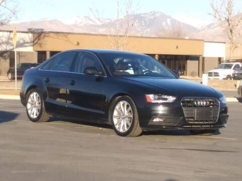 2013 Audi A4 for sale at AUTOMOTIVE SOLUTIONS in Salt Lake City UT