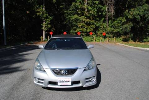 2007 Toyota Camry Solara for sale at Source Auto Group in Lanham MD