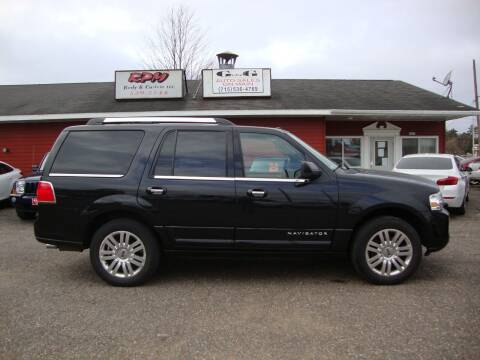 2011 Lincoln Navigator for sale at G and G AUTO SALES in Merrill WI