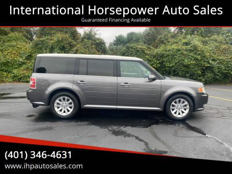 2009 Ford Flex for sale at International Horsepower Auto Sales in Warwick RI
