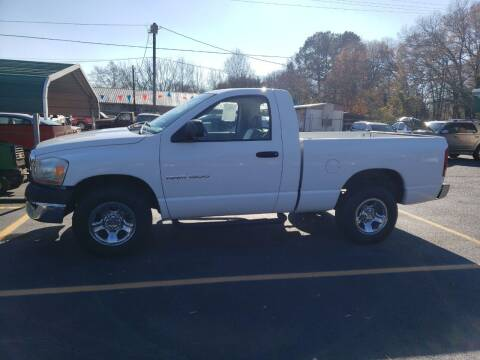 2006 Dodge Ram Pickup 1500 for sale at A-1 Auto Sales in Anderson SC